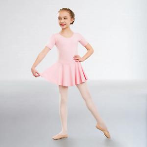 "1st Position ""Hannah"" Q12 Skirted Cap Sleeved Leotard for Dance"
