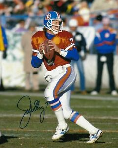 John Elway Denver Broncos 8X10 PHOTO Man Cave DECOR BAR HOF NFL SUPERBOWL Rprint