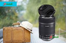 52mm Snap Lens Cap Cover for Sony/Nikon/Olympus/Pentax/Panasonic/Fuji With Strap