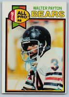 "1979 WALTER PAYTON - Topps ""All Pro"" Football Card - # 480 - CHICAGO BEARS"