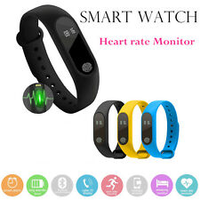 M2+ Smart Watch Bracelet Fitness Tracker Wristband Heart Rate Monitor Phone mate