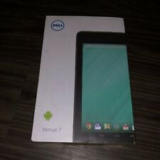 NEW Dell Venue 7 16GB, Wi-Fi, 7in - Black model 3740 hd displayV7TBL-1666B-BLACK