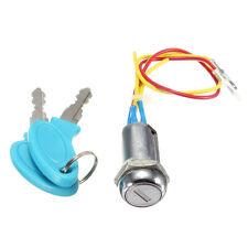 2 Wire 2 Keys Ignition Key Switch Lock Go Kart Scooter Electric Bikes Pocket