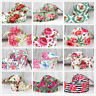 "2 Yards 1.5""/38mm Flower Printed Grosgrain Ribbon-DIY craft  hair bow supplies"