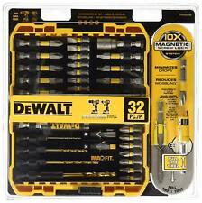 Dewalt Maxfit Magnetic ScrewDriving Set 32 Piece Drill Driver Bits Screw Lock