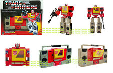 Transformers Vintage G1 Re-issue Autobot Blaster Boombox NEW EXCLUSIVE Cassettes