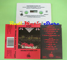 MC LION Trouble in angel city 1989 canada GRAND SLAMM SLAMC 5 no cd lp dvd vhs