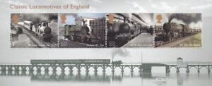 2010 Classic Locomotives of England, Miniature Sheet MNH