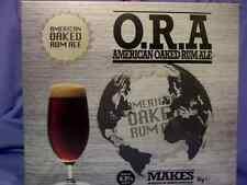 O.A.R American Oak Aged Rum Ale 4kg 6.5% ABV 40 pint home brew beer making kit