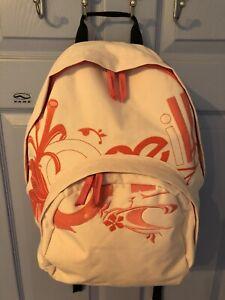 Ladies O'Neill Surfer Brand Large Pink Backpack Rucksack!