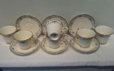 A Set of Six of Minton Bellemeade Cups and Saucers
