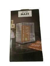 Gift Card Marble Money Maze Game 3D Puzzle Box