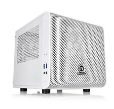 Thermaltake V1 Core Snow Edition Housings Tower PC Case Ca-1b8-00s6wn-01