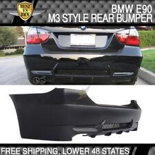 Bumper Compatible With 2006-2011 BMW E90 3 Series Sedan 335 335i M-Tech Msport Rear Bumper Cover /& Diffuserby IKON MOTORSPORTS /2007 2008 2009 2010