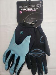 ENDURA WMS Windchill Glove ULTRAMARINE Short Cuff Full-Finger Cycling - Small