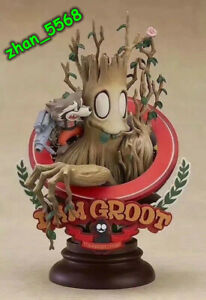 MARVEL Guardians of the Galaxy Groot Superlog Ver. PVC Figure New In Box