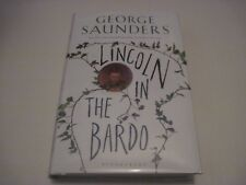Lincoln in the Bardo Signed 1st edition third print George Saunders