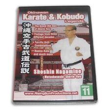 Okinawan Matsubayashi Shorin Ryu Karate Kobudo Legends #11 Dvd Shoshin Nagamine