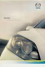 Mazda 2 Specification 2006 UK Market Brochure Capella Antares S 1.2 1.4 1.6 1.4D