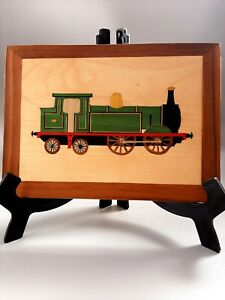 Handy 0-4-4 Engine: Marquetry Woodwork Craft Kit From UK For Adults & Beginners.