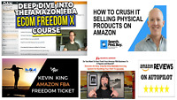 5 TOP Amazon FBA Courses + BONUS Value : + $5,000.00 - See the List of Courses