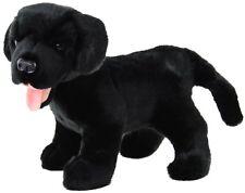 """BNWT -  ELKA AUSTRAIA """"SAM"""" BLACK LABRADOR DOG ANIMAL  SOFT TOY 25CM"""