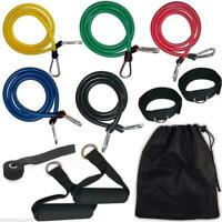 RESISTANCE EXERCISE BANDS SET FOR YOGA ABS WORKOUT