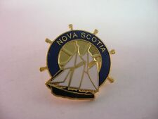 Nice Quality Nova Scotia Sailing Ship Nautical Helm Theme Lapel Hat Pin