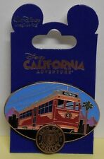 Disney Pin WDI Red Car Trolley Landmarks Comfort Speed & Safety LE200