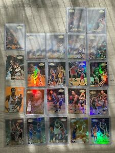 1999-00 Topps Gold Label Lot Kobe Rookies KG Black Label Beautiful Condition
