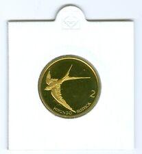 Slowenien 2 Tolar 2002 PP  Nur 800 Stück!