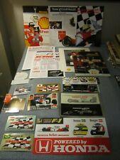 AYRTON SENNA / Mclaren Motor Racing Materials.