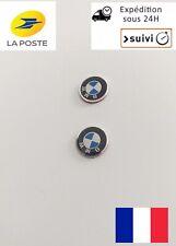 2 Logo Emblème Stickers Clé Clefs BMW 11mm série 1 3 5 6 7 X1 X3 X5 X6 M3 M5 X2