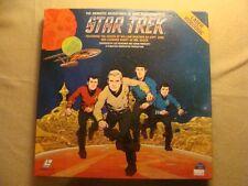Laser Disc - The Animated Adventures of STAR TREK (Very Rare)  Gene Roddenberry