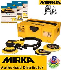 Mirka DEROS 5650CV Electric Sander kit,50 abranet discs+hose+case,bluetooth spec