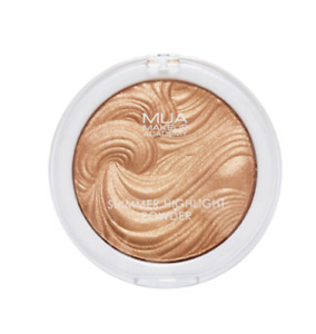 MUA SHIMMER HIGHLIGHTER POWDER SHADE GOLDEN AFTERGLOW NEW