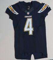 2013 Brad Sorensen Game Worn San Diego Chargers Nike Football Jersey! L.A NFL