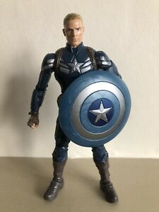 MARVEL LEGENDS CAPTAIN AMERICA WINTER SOLDIER BAF MANDROID HASBRO FIGURE
