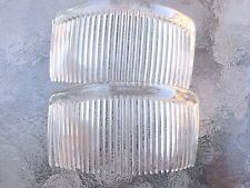 "Crystal Rounded Back Hair Comb 4 1/2"" Comb Made in USA Good Hair Days # 213 New"