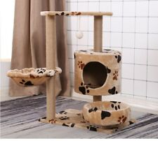 "24"" 16"" 30"" Cat Tree Scratching Tower Large Condo Furniture Kitten"