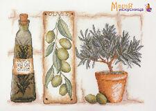 """Counted Cross Stitch Kit MARY WEAVER (MARYA ISKUSNITSA) - """"Olive"""""""