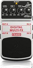Behringer Fx600 Digital Multi FX effetto modulazione Digitale 24 Bit a Pedale