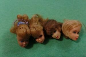 Vintage Barbie Doll -  Vintage Barbie Doll and Family Doll Heads