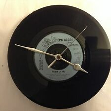 Michael Jackson Clock Vintage Original 7 inch Record Birthday Christmas Gift