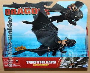 Spin Master Dragons Action Dragon Toothless Ohnezahn 20087477 NEU/OVP