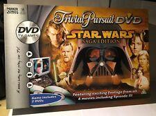 Star Wars Juego de Mesa Trivial Pursuit DVD-Edición Saga ** ** contenido Sellado parte
