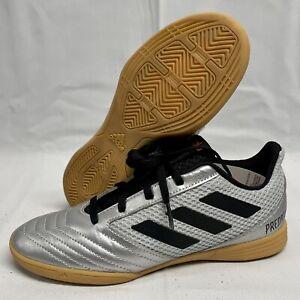 NWB adidas Predator 19.4 IN SALA J Indoor Soccer Shoes US 2.5 G25829 Cleats