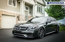 "20"" ROHANA RF1 MATTE BLACK CONCAVE WHEELS FOR MERCEDES W212 E CLASS E350 E400"