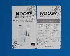 kit adattatore sim da nano, micro a sim per cellulari, smrtphone e tablet