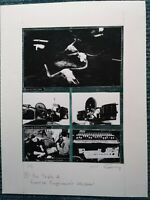 Signed J Cauty The Triple A cook book Page 9 Reverse Engineered Master print 1/1